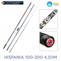 Canna da pesca a surfcasting Surfitaly Hispania 100-200 4,50mt