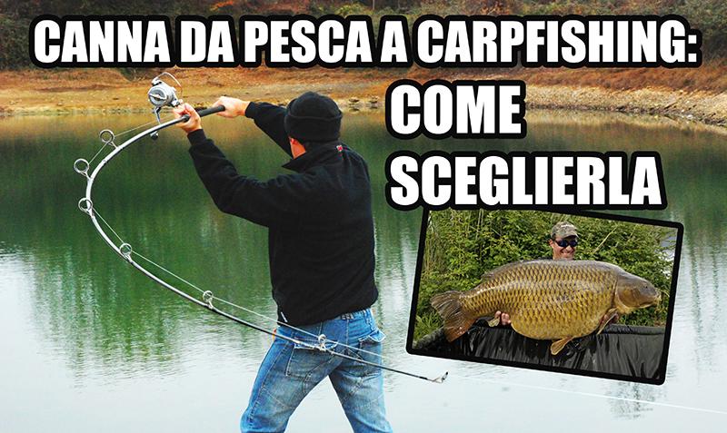 Canna da pesca a carpfishing come sceglierla (1)