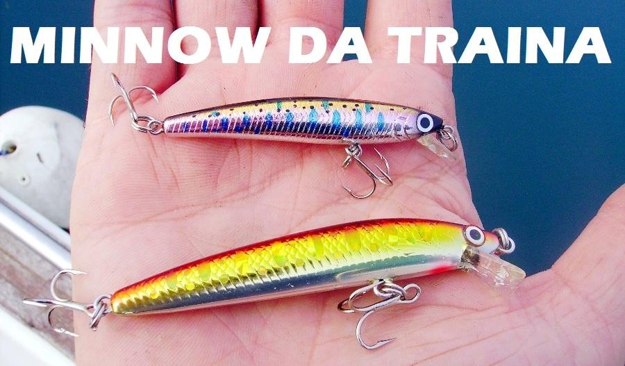 Minnow esche pesca traina