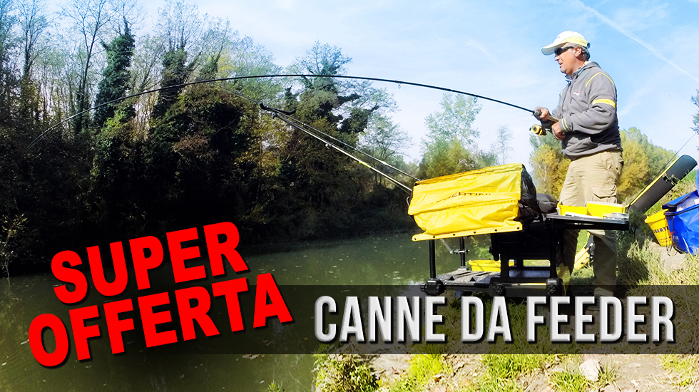 Canne da feeder in offerta