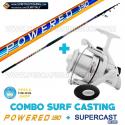 Combo Surfcasting Powered 130 + Ryobi Tubertini Supercast