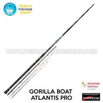 Fishing rod Tubertini Gorilla Boat Atlantis PRO