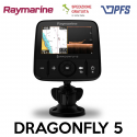 Ecoscandaglio / GPS Dragonfly 5 Raymarine