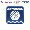 Cartografia Navionics Plus per download su MicroSD Raymarine