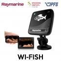 Ecoscandaglio Wi-FiSH con CHIRP e DownVision e trasduttore CPT-DV Raymarine