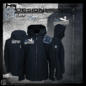 Giacca Uomo con zip Big Game Hotspot Design