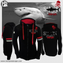 Felpa con zip Shark Zone Hotspot Design