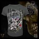 T-shirt Hot Spot Skull Collection Hotspot Design