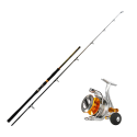 Kit combo rod and reel for lure fishing