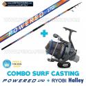 Combo Surfcasting Powered 170 + Ryobi Tubertini Halley