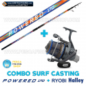 Combo Surfcasting Powered 170 + Ryobi Tubertini Halley