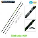 Canna da Pesca DIABLADA 100 Surfitaly (montata)
