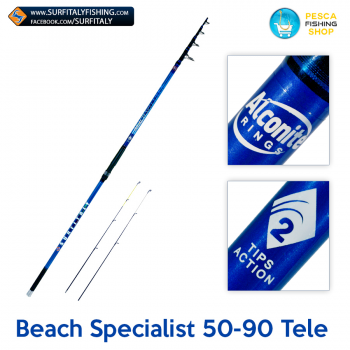 Beach Specialist 50-90 Telescopique