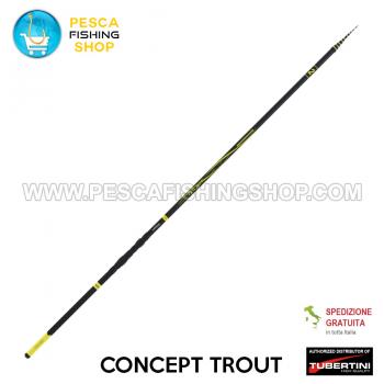 Canna da pesca Tubertini Concept Trout